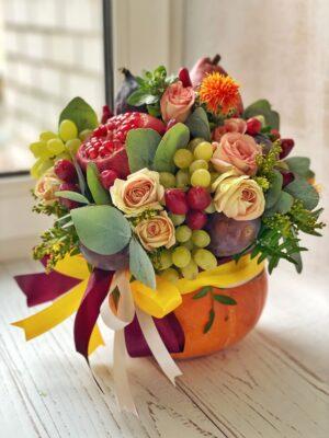 Букеты фруктово-овощные